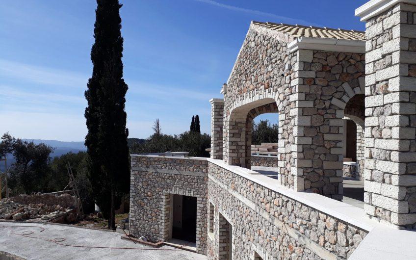 Stunning new villa with breathtaking sea views