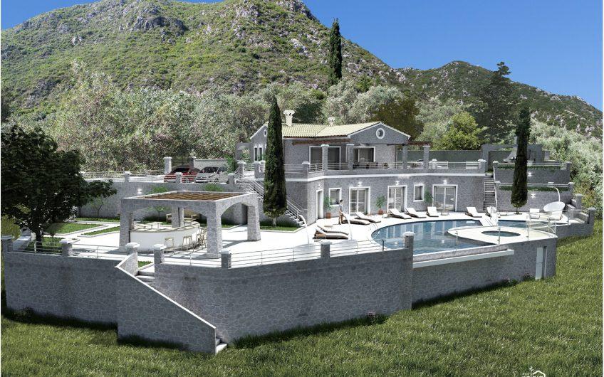 Stunning new villa